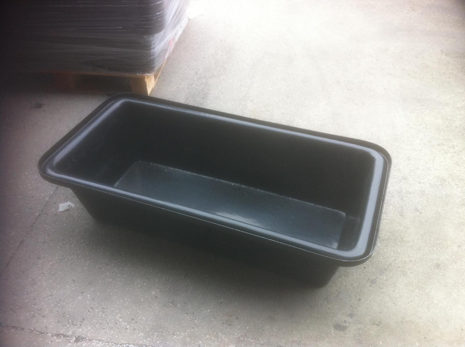 bin corners cleaning and tubs edges simple plastic tub easy originalviews rectangle reinforced bus nice rounded ribs storage limiting red stunning bottom large sharp handles with