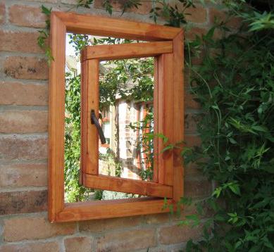 Illusions Small Window Ajar Parallax Plastics